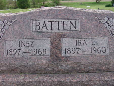 BATTEN, IRA E. - Warren County, Iowa | IRA E. BATTEN