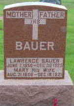 BAUER, MARY - Warren County, Iowa | MARY BAUER