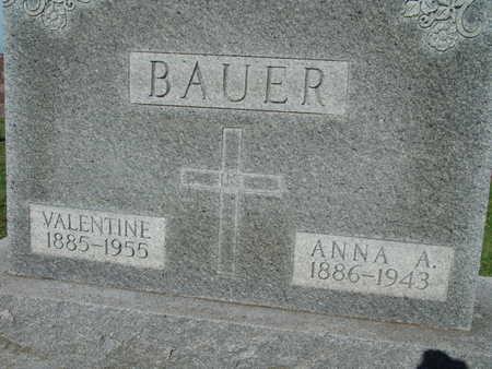 BAUER, ANNA A. - Warren County, Iowa | ANNA A. BAUER