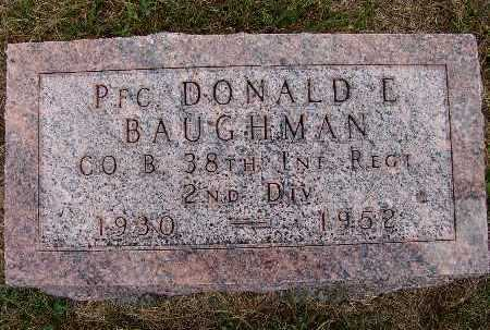 BAUGHMAN, DONALD E. - Warren County, Iowa | DONALD E. BAUGHMAN