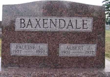 BAXENDALE, ALBERT J. - Warren County, Iowa | ALBERT J. BAXENDALE