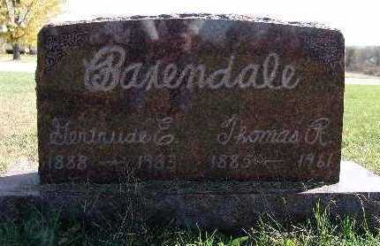 BAXENDALE, THOMAS R. - Warren County, Iowa | THOMAS R. BAXENDALE