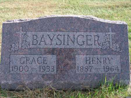 BAYSINGER, GRACE - Warren County, Iowa | GRACE BAYSINGER