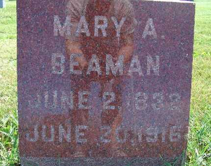 BEAMAN, MARY A. - Warren County, Iowa | MARY A. BEAMAN