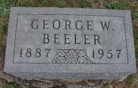 BEELER, GEORGE W. - Warren County, Iowa | GEORGE W. BEELER
