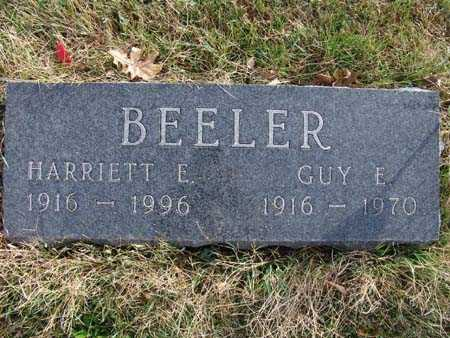 BEELER, HARRIETT E. - Warren County, Iowa | HARRIETT E. BEELER