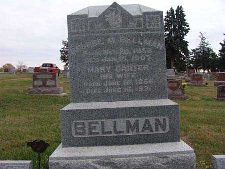 BELLMAN, GEORGE M - Warren County, Iowa | GEORGE M BELLMAN