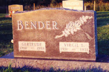 BENDER, VIRGIL LAVERNE - Warren County, Iowa | VIRGIL LAVERNE BENDER