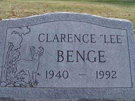 BENGE, CLARENCE