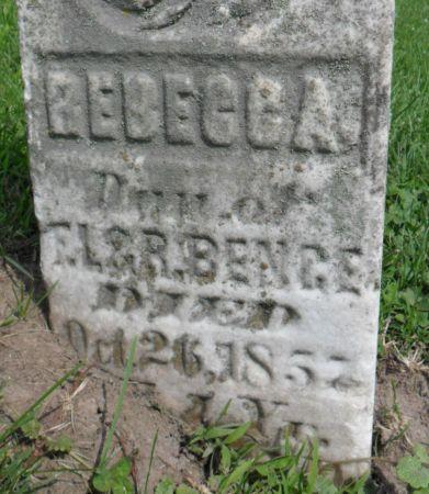 BENGE, REBECCA - Warren County, Iowa | REBECCA BENGE
