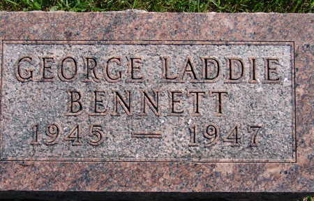 BENNETT, GEORGE LADDIE - Warren County, Iowa | GEORGE LADDIE BENNETT
