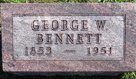 BENNETT, GEORGE W. - Warren County, Iowa | GEORGE W. BENNETT