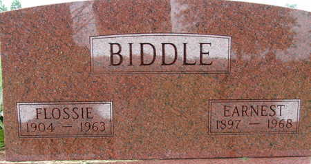 BIDDLE, FLOSSIE - Warren County, Iowa | FLOSSIE BIDDLE