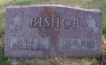 BISHOP, VIRGIE MARIE - Warren County, Iowa | VIRGIE MARIE BISHOP