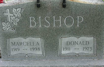 BISHOP, MARCELLA - Warren County, Iowa | MARCELLA BISHOP