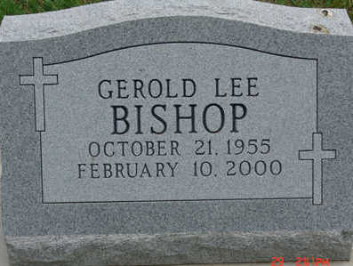 BISHOP, GEROLD LEE - Warren County, Iowa | GEROLD LEE BISHOP