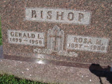 BISHOP, ROSA M. - Warren County, Iowa | ROSA M. BISHOP