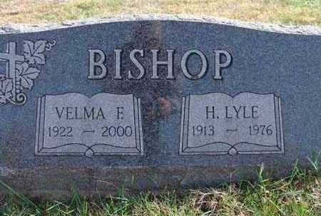 MOORE BISHOP, VELMA F. - Warren County, Iowa | VELMA F. MOORE BISHOP