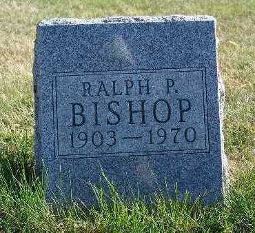 BISHOP, RALPH P. - Warren County, Iowa | RALPH P. BISHOP