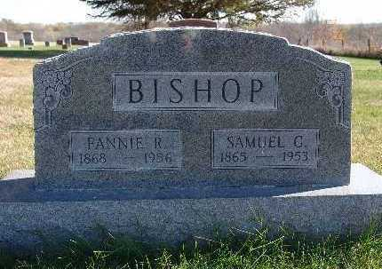 BISHOP, FANNIE R. - Warren County, Iowa | FANNIE R. BISHOP