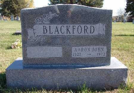 BLACKFORD, AARON JOHN - Warren County, Iowa | AARON JOHN BLACKFORD