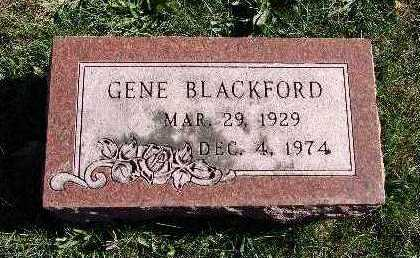 BLACKFORD, GENE - Warren County, Iowa | GENE BLACKFORD