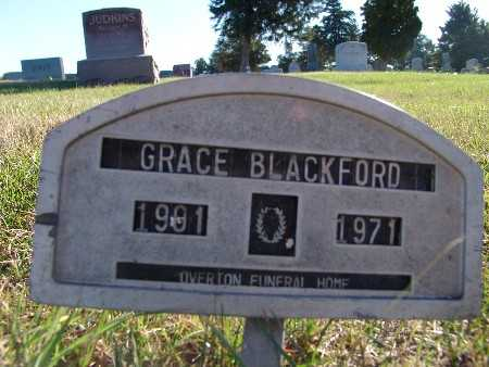 BLACKFORD, GRACE - Warren County, Iowa | GRACE BLACKFORD
