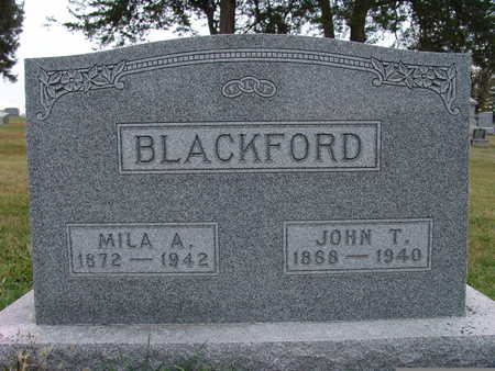 BLACKFORD, JOHN T. - Warren County, Iowa | JOHN T. BLACKFORD