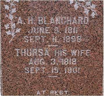BLANCHARD, ALVA H. - Warren County, Iowa | ALVA H. BLANCHARD