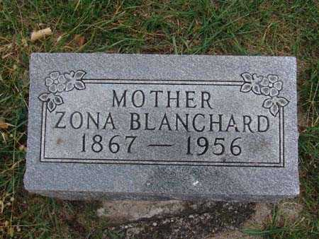 BLANCHARD, ZONA - Warren County, Iowa | ZONA BLANCHARD