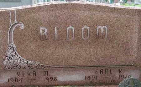 BLOOM, VERA M - Warren County, Iowa | VERA M BLOOM