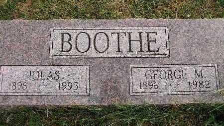 BOOTHE, GEORGE M. - Warren County, Iowa | GEORGE M. BOOTHE
