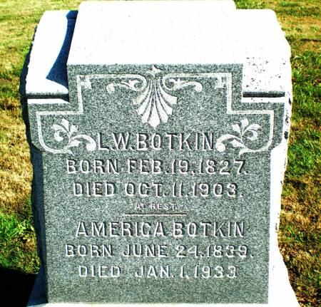 BOTKIN, AMERICA - Warren County, Iowa | AMERICA BOTKIN