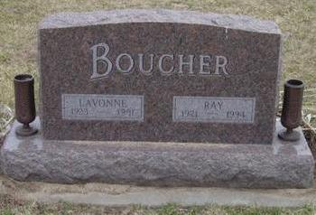 GORDON BOUCHER, LAVONNE - Warren County, Iowa | LAVONNE GORDON BOUCHER