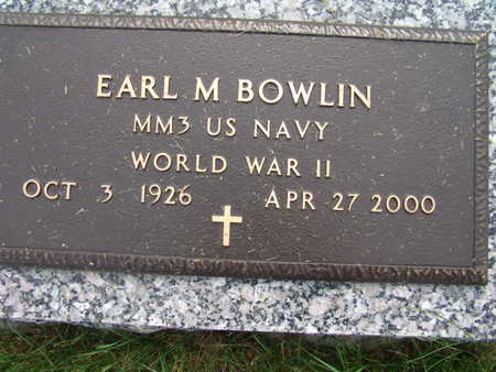 BOWLIN, EARL M. - Warren County, Iowa | EARL M. BOWLIN