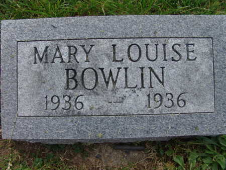 BOWLIN, MARY LOUISE - Warren County, Iowa | MARY LOUISE BOWLIN