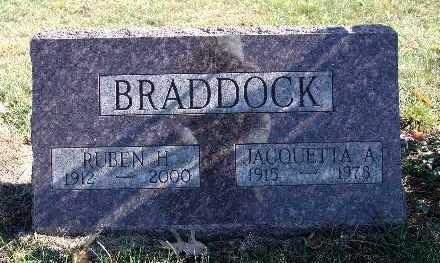 BRADDOCK, JACQUETTA A. - Warren County, Iowa | JACQUETTA A. BRADDOCK
