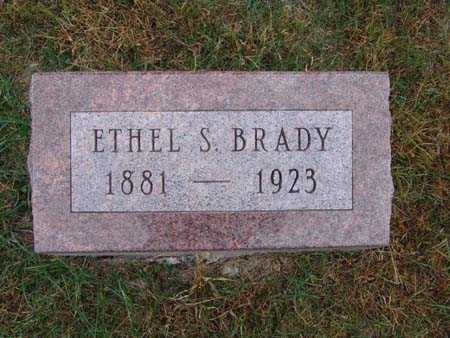 BRADY, ETHEL S. - Warren County, Iowa | ETHEL S. BRADY