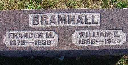 BRAMHALL, FRANCES M. - Warren County, Iowa | FRANCES M. BRAMHALL