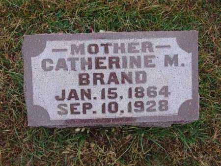 BRAND, CATHERINE M. - Warren County, Iowa   CATHERINE M. BRAND