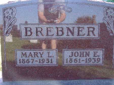 BREBNER, MARY L - Warren County, Iowa | MARY L BREBNER