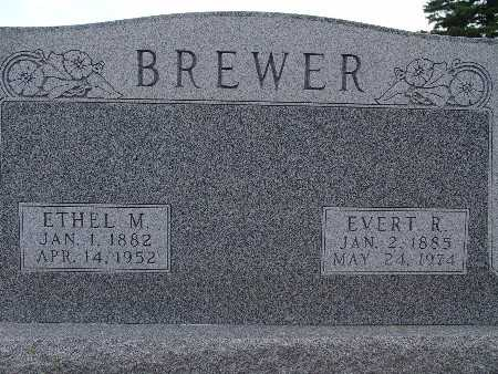 BREWER, ETHEL M. - Warren County, Iowa | ETHEL M. BREWER