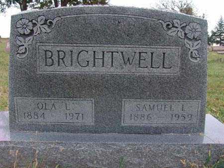 BRIGHTWELL, OLA L. - Warren County, Iowa | OLA L. BRIGHTWELL