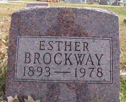 BROCKWAY, ESTHER - Warren County, Iowa | ESTHER BROCKWAY