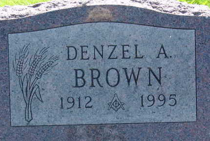 BROWN, DENZEL A - Warren County, Iowa | DENZEL A BROWN