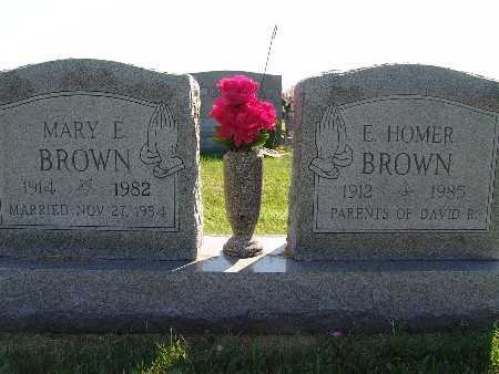 BROWN, MARY E. - Warren County, Iowa | MARY E. BROWN