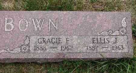 BOWN, GRACIE F. - Warren County, Iowa | GRACIE F. BOWN