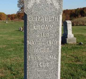 BROWN, ELIZABETH - Warren County, Iowa | ELIZABETH BROWN
