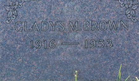 BROWN, GLADYS M. - Warren County, Iowa | GLADYS M. BROWN