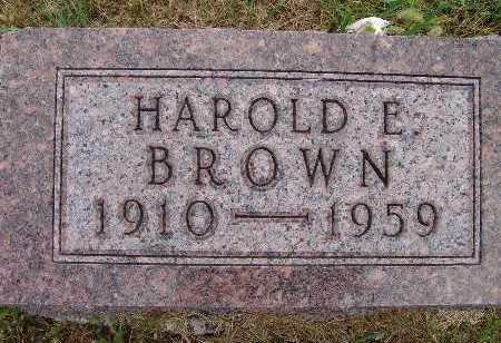 BROWN, HAROLD E. - Warren County, Iowa | HAROLD E. BROWN